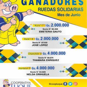 Ruedas Junio 2018